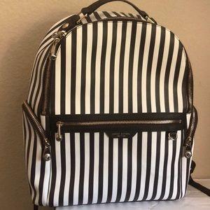 Henri Bendel Centennial Stripe Travel Backpack